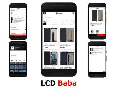 LCD Baba Mobile App