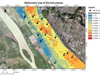 Bathymetry Map Production