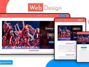 Responsive Web Design (for Event Site)