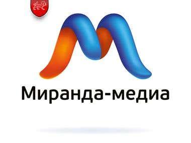 """Miranda Media"" corporate identity"
