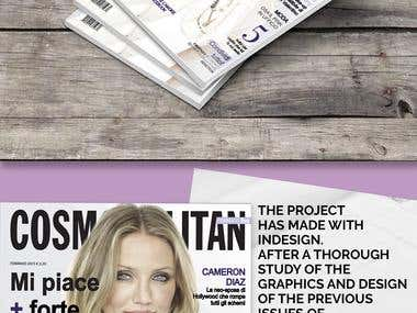 Restyling Cosmopolitan Magazine