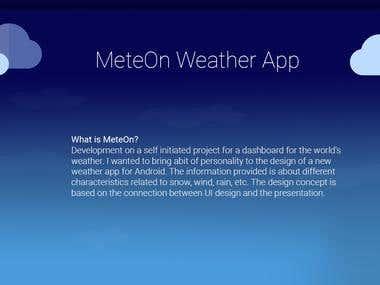 MeteOn - Weather App