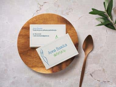 Dietician business cards