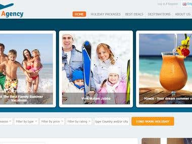 Travel & Holiday Website