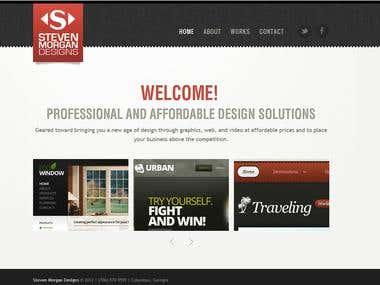 Steven Morgan Designs Website