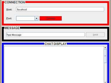 Chat Application Using Java Socket and Swing