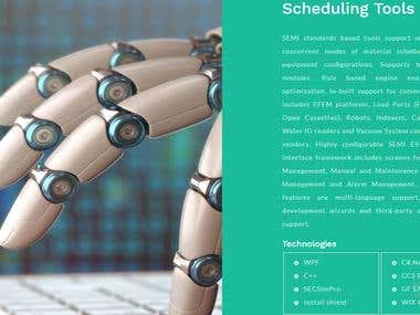 Scheduler for Industrial automation