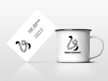 Business Card And Mugs Design