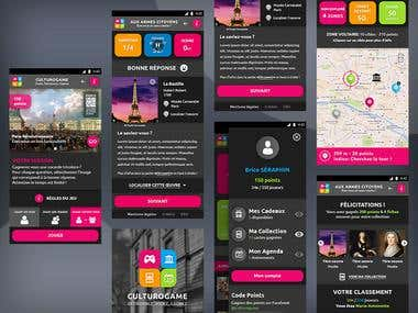 Culturo'Game. Hybrid App