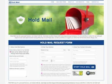 Website for MailForwarding