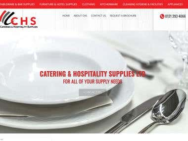 Catering and Hospitality Website