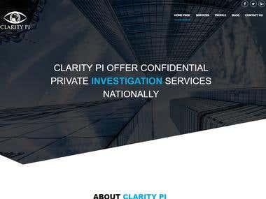 Private Investigator Site