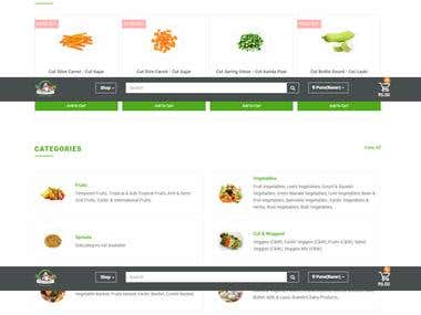 website for Vegetables