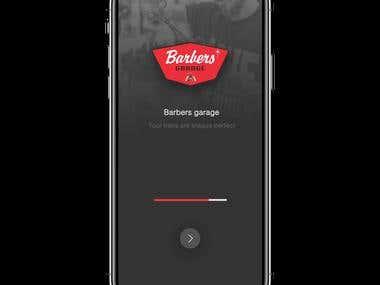 Barbar App Design