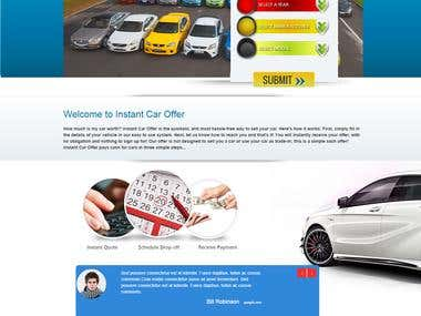Car Quote website