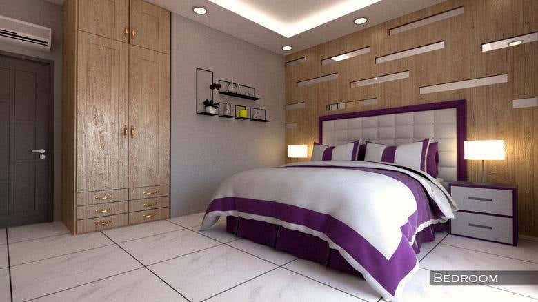 Complete Interior Design Visualization For 1 Bhk House Freelancer