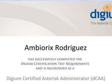 Digium Certified Asterisk Administrator
