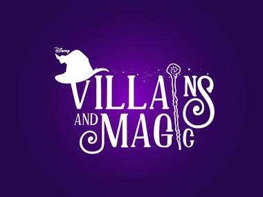 Villians and Magic Logo