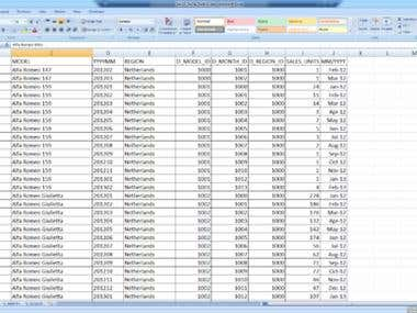 Data Entry and Web Search Projects