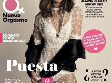 """Portada de Revista ficticia """"Woman"""""""