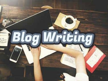 Blog Writing