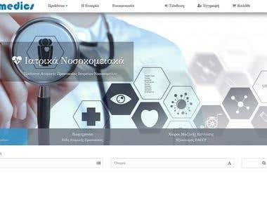 Obmedics E-Commerce Web Application