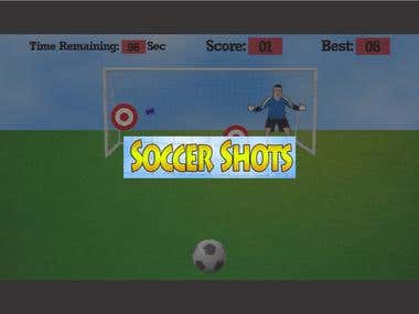 Roku App Development - Soccer Shots