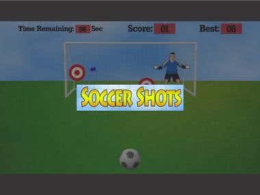 Roku App Development - Soccer Shots