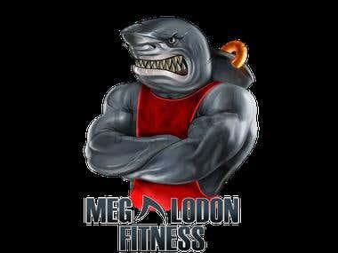 Logo Illustration - Megalodon Fitness