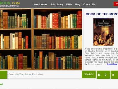 Book Rental System