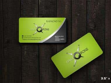 Biz Card Design for findqpons.com