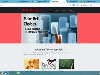 WORDPRESS WEBSITE 2