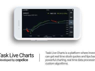 Task Live Charts