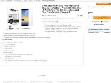 Newegg.com Product Listings