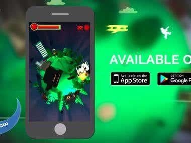 Mobile videogame
