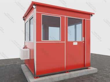 3D Booth exterior