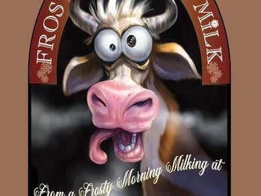 Frosty Morning Milking