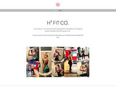H2 FIT CO Website