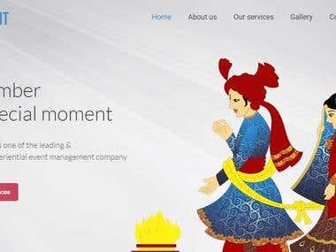 sinqevent.com | indian wedding planner website