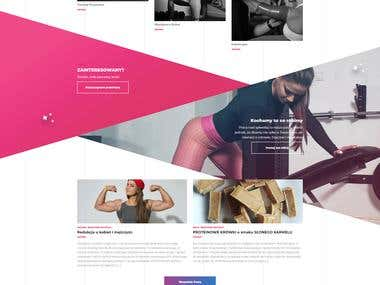 Personal trainers website