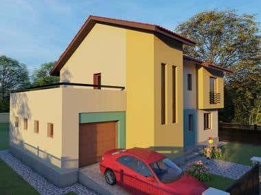 Architecture design and rendering