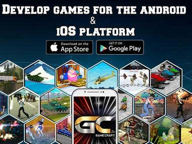 Development of game apps