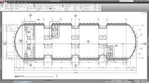 cad architecture drawing 2d