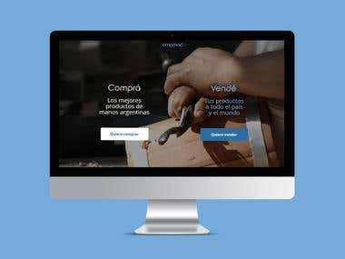 Emprendar - website
