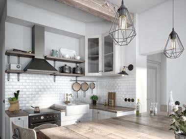 Interior Design and Visualization