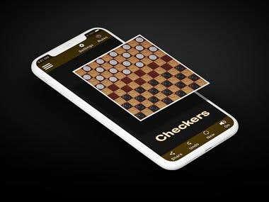 Damas - checkers game