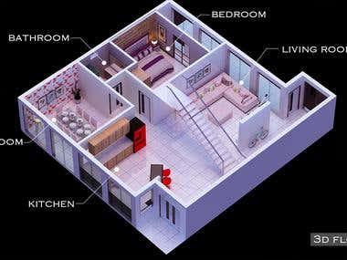 3D-Floor Plans