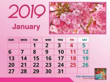 Calendar Design.