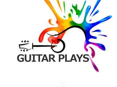 Logo for school of guitar playing
