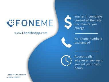 Logo - FoneMeApp